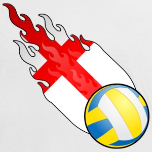 Fireball Volleyball England - Women's Ringer T-Shirt