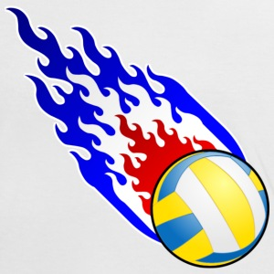 Fireball Volleyball France - Women's Ringer T-Shirt