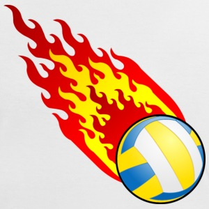 Fireball Volleyball Spain - Women's Ringer T-Shirt