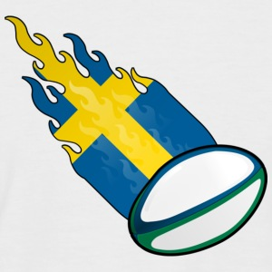 Fireball Rugby Sweden - Men's Baseball T-Shirt