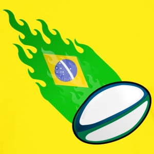 Fireball Rugby Brasil - Men's Ringer Shirt