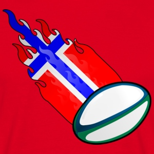 Fireball Rugby Norge - Herre-T-shirt