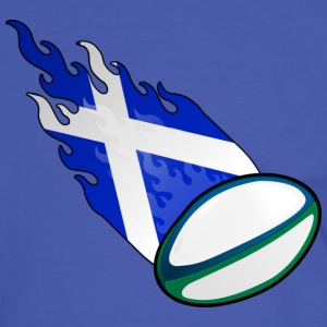 Fireball Rugby Scotland - Men's Ringer Shirt
