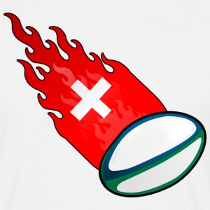 Fireball Rugby Switzerland - Men's T-Shirt