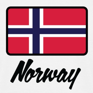 Flag Norway 1 (DD) T-skjorter - T-skjorte for menn