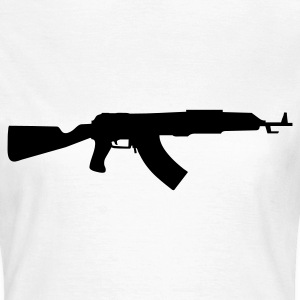 gun rifle T-Shirts - Frauen T-Shirt