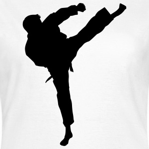 karate martial judo T-Shirts - Frauen T-Shirt