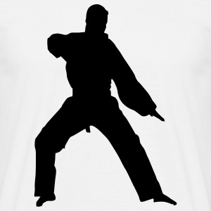 karate martial judo T-shirts - Mannen T-shirt