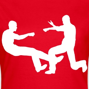 punch martial T-Shirts - Women's T-Shirt