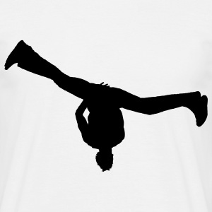 breakdance T-shirts - Herre-T-shirt