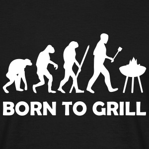 born to grill (BBQ) T-Shirts - Men's T-Shirt