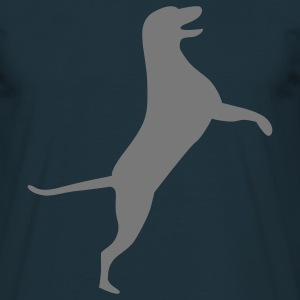 dog T-shirts - Mannen T-shirt