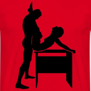 sex position T-shirts - T-shirt herr