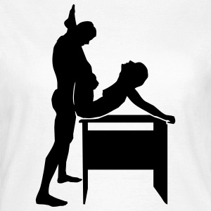 sex position T-Shirts - Frauen T-Shirt