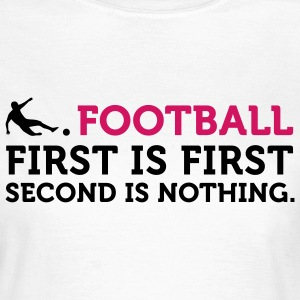 Football - Second is Nothing (2c) T-shirts - Vrouwen T-shirt