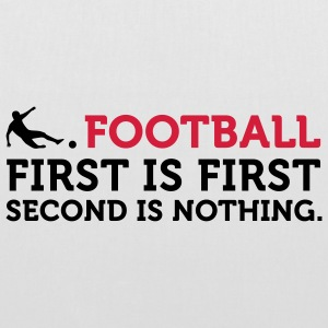 Football - Second is Nothing (2c) Vesker - Stoffveske