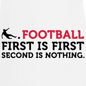 Football - Second is Nothing (2c) Kookschorten - Keukenschort