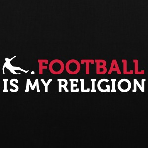 Football - My Religion (2c) Mochilas - Bolsa de tela