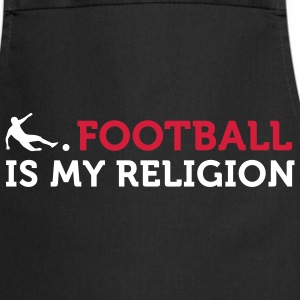 Football - My Religion (2c)  Aprons - Cooking Apron
