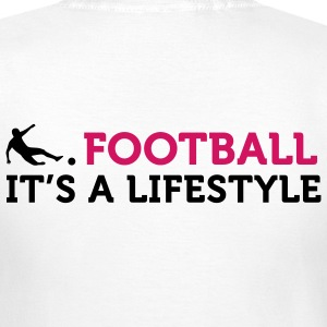 Football - A Lifestyle (2c) T-skjorter - T-skjorte for kvinner