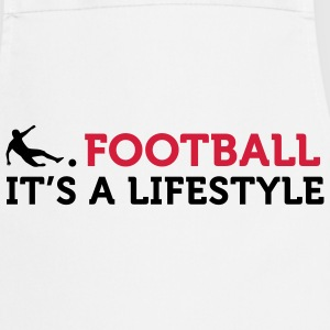 Football - A Lifestyle (2c)  Aprons - Cooking Apron
