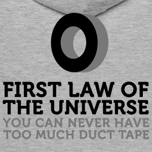 Duct Tape - First Law of Universe (2c) Gensere - Premium hettegenser for menn