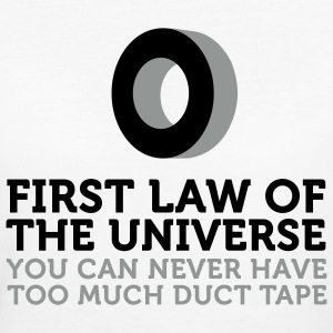 Duct Tape - First Law of Universe (2c) T-shirts - Ekologisk T-shirt dam