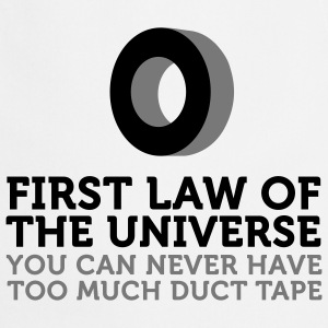 Duct Tape - First Law of Universe (2c) Tabliers - Tablier de cuisine