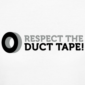 Respect the Duct Tape (2c) T-shirts - Vrouwen Bio-T-shirt