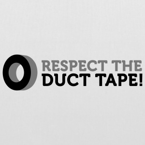 Respect the Duct Tape (2c) Sacs - Tote Bag