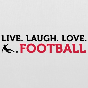 Live Laugh Love Football (2c) Tasker - Mulepose