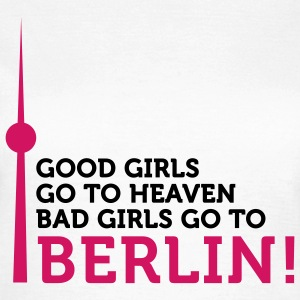 Bad Girls go to Berlin (2c) T-skjorter - T-skjorte for kvinner