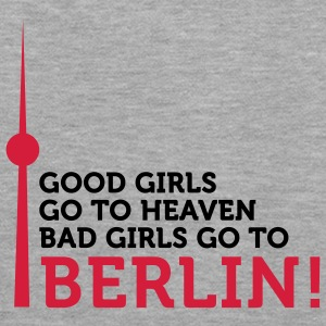 Bad Girls go to Berlin (2c) Pullover - Felpa con cappuccio premium da donna