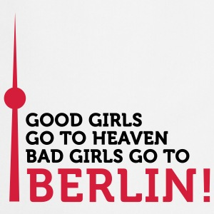 Bad Girls go to Berlin (2c)  Aprons - Cooking Apron