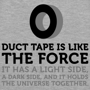 Duct Tape is the Force (2c) Sweatshirts - Dame Premium hættetrøje
