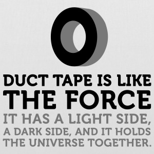 Duct Tape is the Force (2c) Sacs - Tote Bag