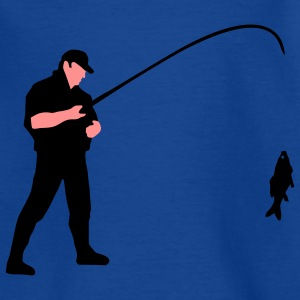 angler_a_2c_fisch T-shirts - Teenager-T-shirt
