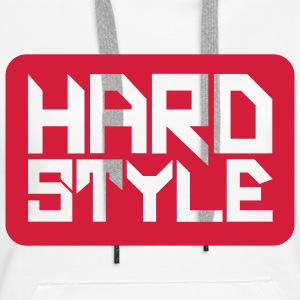 Hardstyle Square V2 Sweaters - Vrouwen Premium hoodie