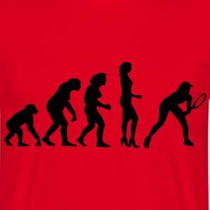 evolution_female_tennis_a_1c Camisetas - Camiseta hombre