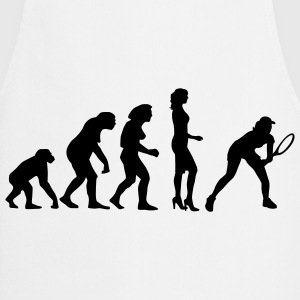 evolution_female_tennis_a_1c Forklær - Kokkeforkle