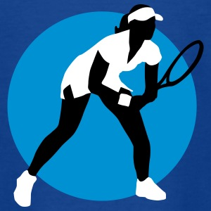 tennis_female_g_3c Shirts - Teenage T-shirt