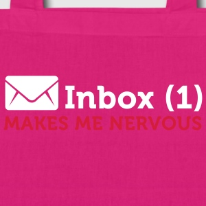Inbox (1) Makes Me Nervous (2c) Taschen - Bio-Stoffbeutel