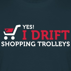 I Drift Shopping Trolleys (2c) T-skjorter - T-skjorte for menn