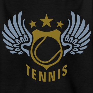 tennis_n_2c T-shirts - Teenager-T-shirt
