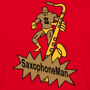 saxophoneman2 T-Shirts - Men's T-Shirt