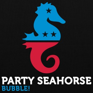Party Seahorse (3c) Bags  - Tote Bag