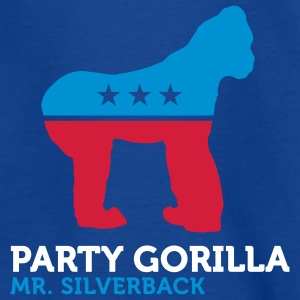 Party Gorilla (3c) Kinder T-Shirts - Teenager T-Shirt