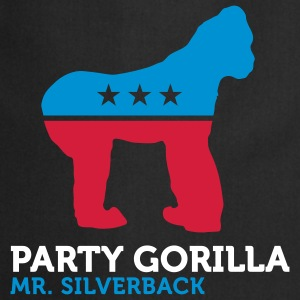 Political Party Animals: Gorilla  Aprons - Cooking Apron