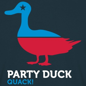 Party Duck (3c) T-shirts - T-shirt Homme