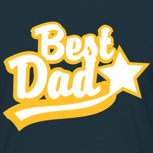 Best Dad Star T-Shirt YN - Men's T-Shirt